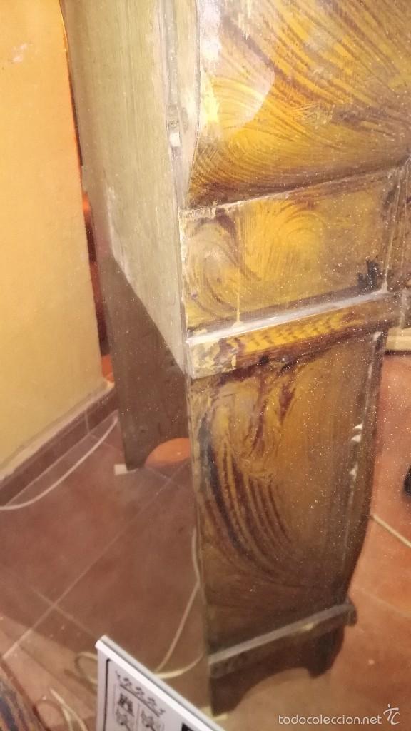 Relojes de pie: RELOJ DE PIE CON CAJA DE MADERA PRINCIPIOS DEL XX - Foto 13 - 56936998