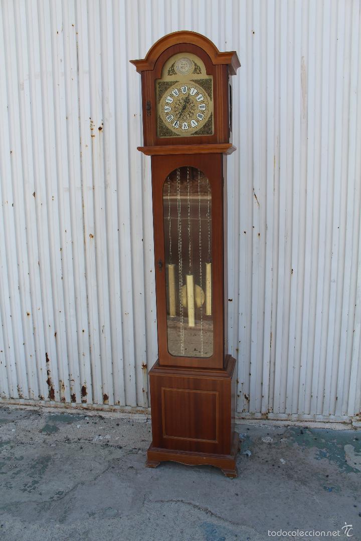 RELOJ CARRILLON DE PIE RADIANT TEMPUS FUGITE (Relojes - Pie Carga Manual)