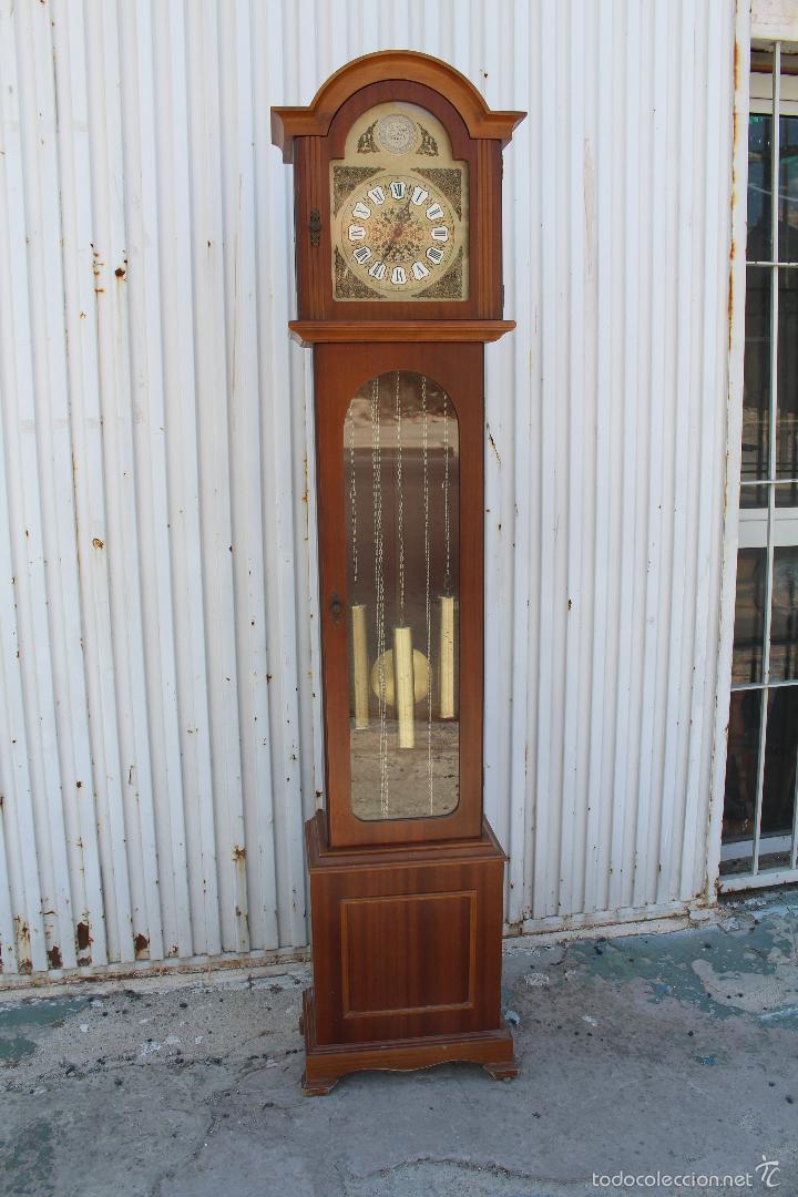 Relojes de pie: reloj carrillon de pie radiant tempus fugite - Foto 2 - 58085493
