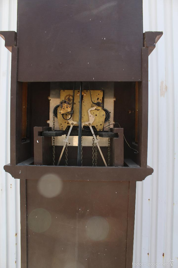 Relojes de pie: reloj carrillon de pie radiant tempus fugite - Foto 3 - 58085493