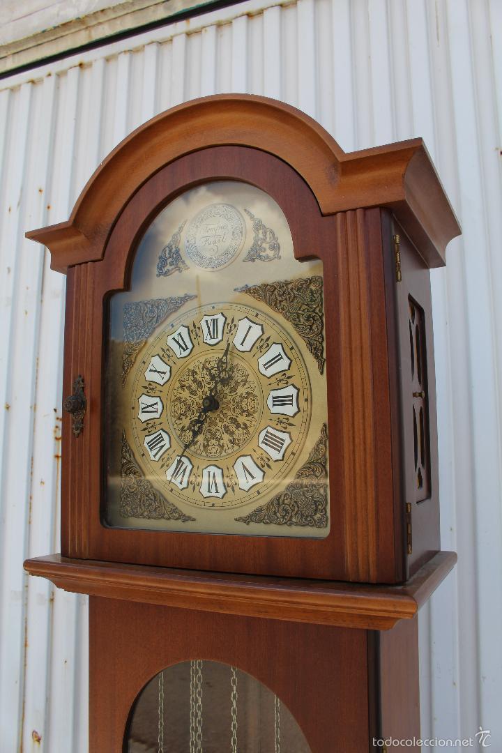 Relojes de pie: reloj carrillon de pie radiant tempus fugite - Foto 5 - 58085493