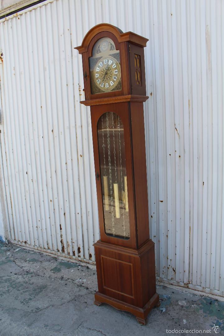 Relojes de pie: reloj carrillon de pie radiant tempus fugite - Foto 7 - 58085493