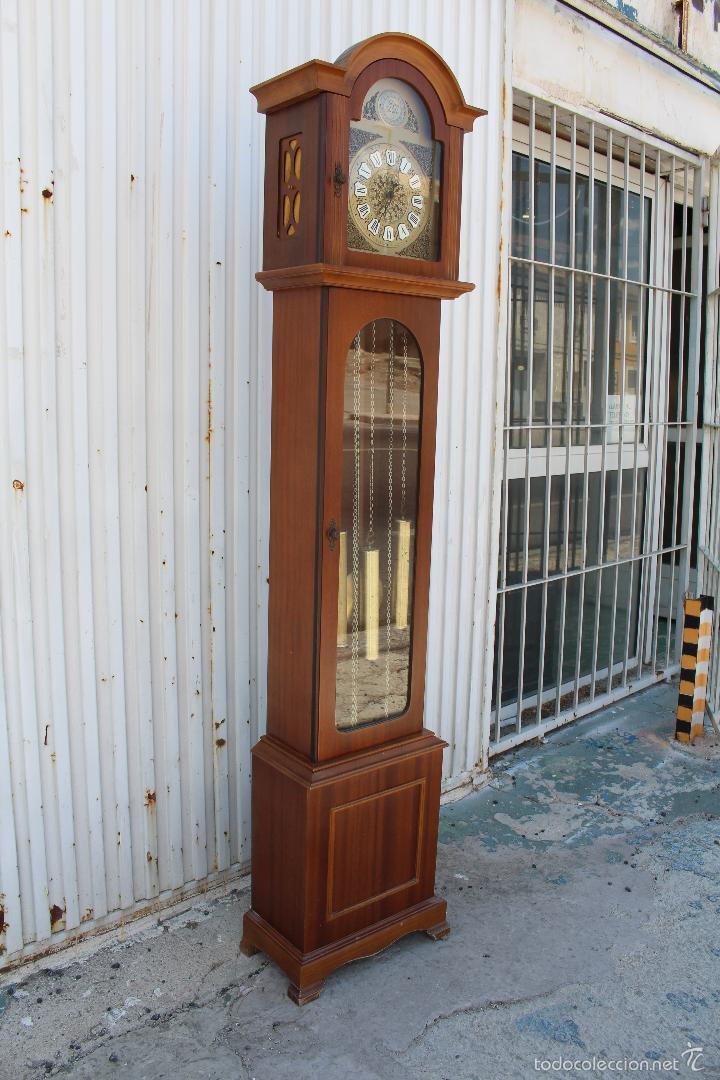 Relojes de pie: reloj carrillon de pie radiant tempus fugite - Foto 8 - 58085493