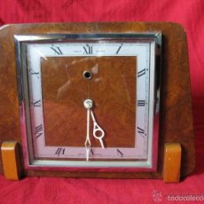 Relojes de pie: PRECIOSO RELOJ INGLES DE SOBREMESA ESTILO ART DECO. Lote 58183898