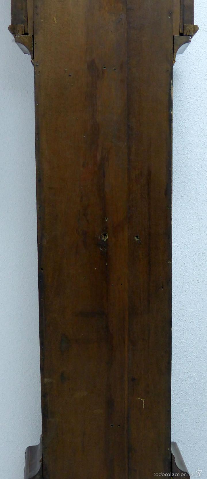 Relojes de pie: Reloj pie inglés laca japanning chinoseries S XVIII Maquinaria William Fidgett London Funciona - Foto 20 - 58294331