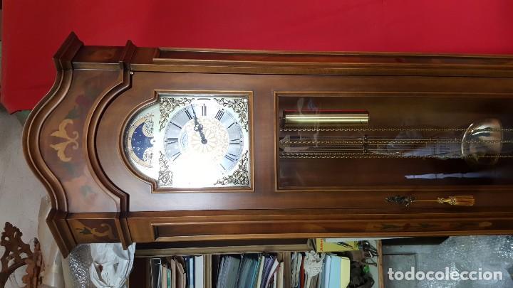 Relojes de pie: Reloj de pie con caja con marquetería y sonería Diamantini Domeniconi. - Foto 2 - 63086552