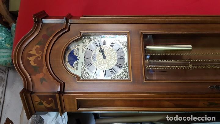 Relojes de pie: Reloj de pie con caja con marquetería y sonería Diamantini Domeniconi. - Foto 3 - 63086552