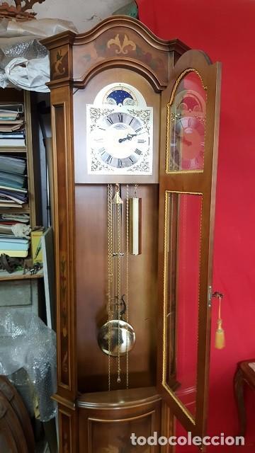 Relojes de pie: Reloj de pie con caja con marquetería y sonería Diamantini Domeniconi. - Foto 4 - 63086552