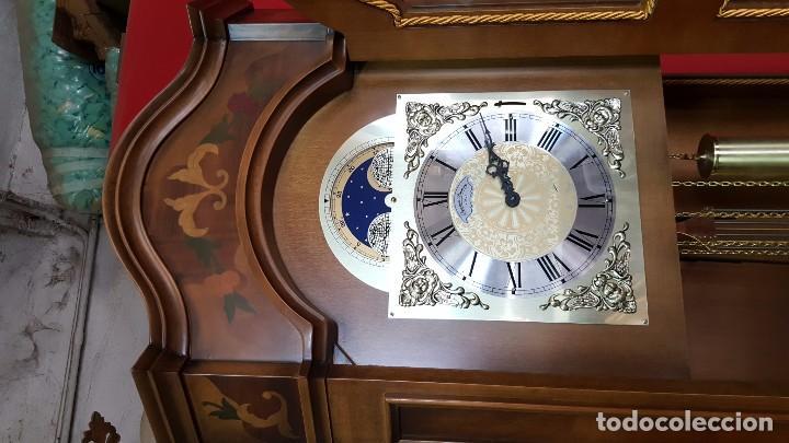 Relojes de pie: Reloj de pie con caja con marquetería y sonería Diamantini Domeniconi. - Foto 5 - 63086552