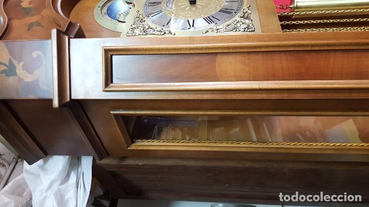 Relojes de pie: Reloj de pie con caja con marquetería y sonería Diamantini Domeniconi. - Foto 7 - 63086552