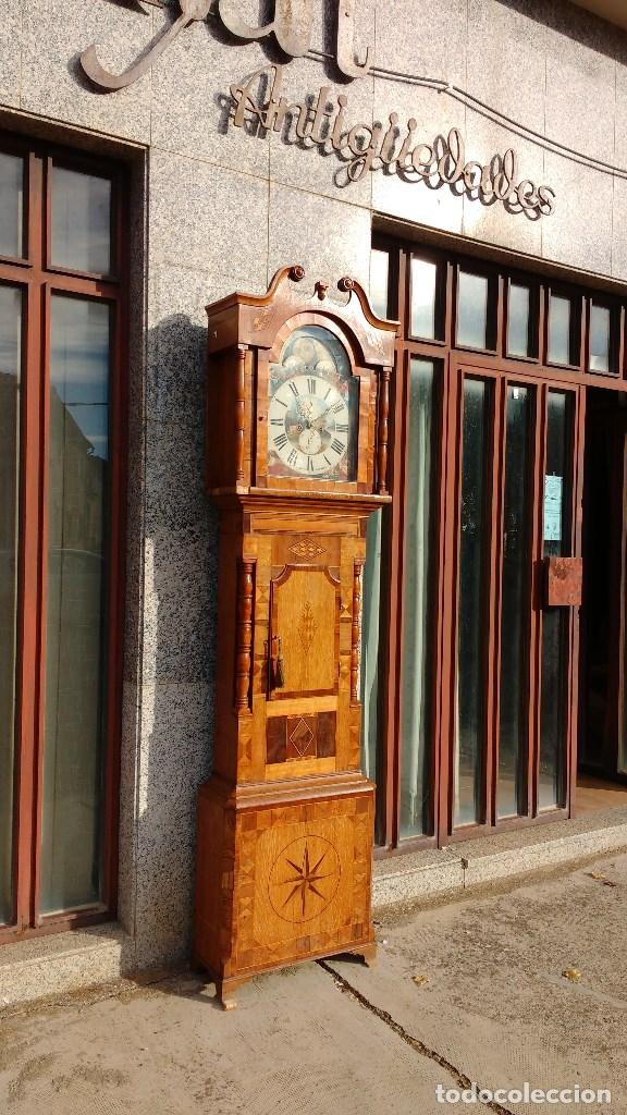 RELOJ INGLÉS GRANDFATHER (Relojes - Pie Carga Manual)
