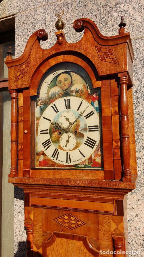 Relojes de pie: Reloj inglés Grandfather - Foto 2 - 68315069