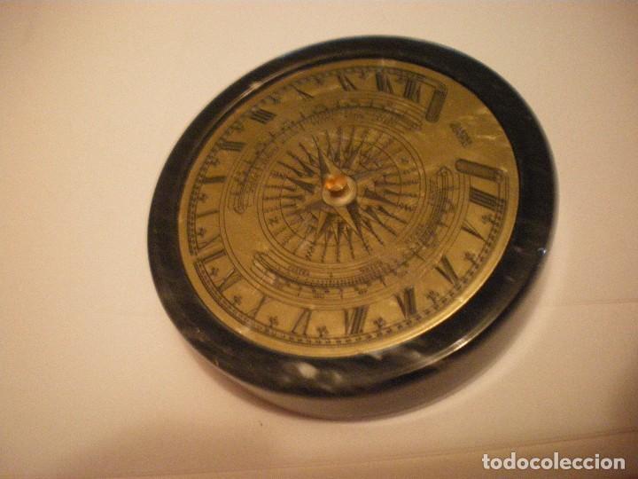 Relojes de pie: RELOJ DE SOL CON SOPORTE DE PIEDRA MARMOL VERDE - Foto 10 - 68547665