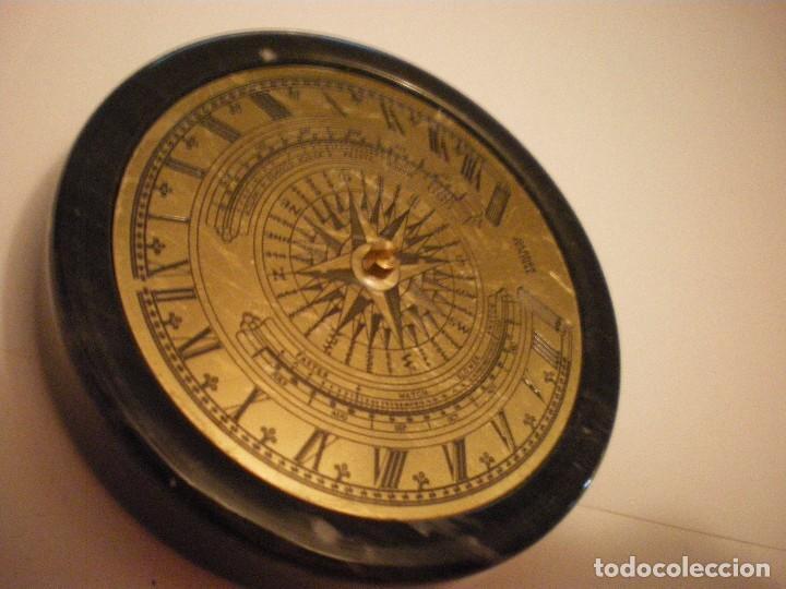 Relojes de pie: RELOJ DE SOL CON SOPORTE DE PIEDRA MARMOL VERDE - Foto 11 - 68547665