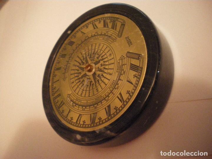 Relojes de pie: RELOJ DE SOL CON SOPORTE DE PIEDRA MARMOL VERDE - Foto 12 - 68547665