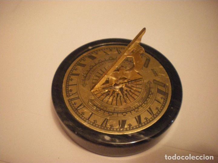 Relojes de pie: RELOJ DE SOL CON SOPORTE DE PIEDRA MARMOL VERDE - Foto 13 - 68547665