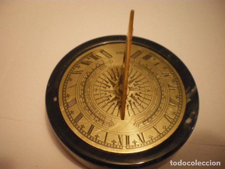 Relojes de pie: RELOJ DE SOL CON SOPORTE DE PIEDRA MARMOL VERDE - Foto 14 - 68547665