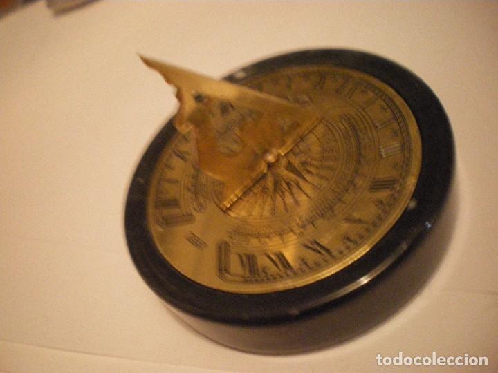 Relojes de pie: RELOJ DE SOL CON SOPORTE DE PIEDRA MARMOL VERDE - Foto 16 - 68547665