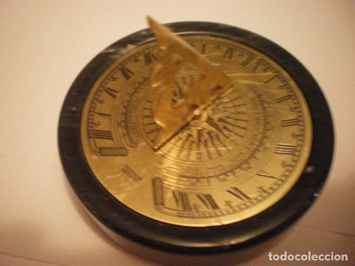 Relojes de pie: RELOJ DE SOL CON SOPORTE DE PIEDRA MARMOL VERDE - Foto 17 - 68547665