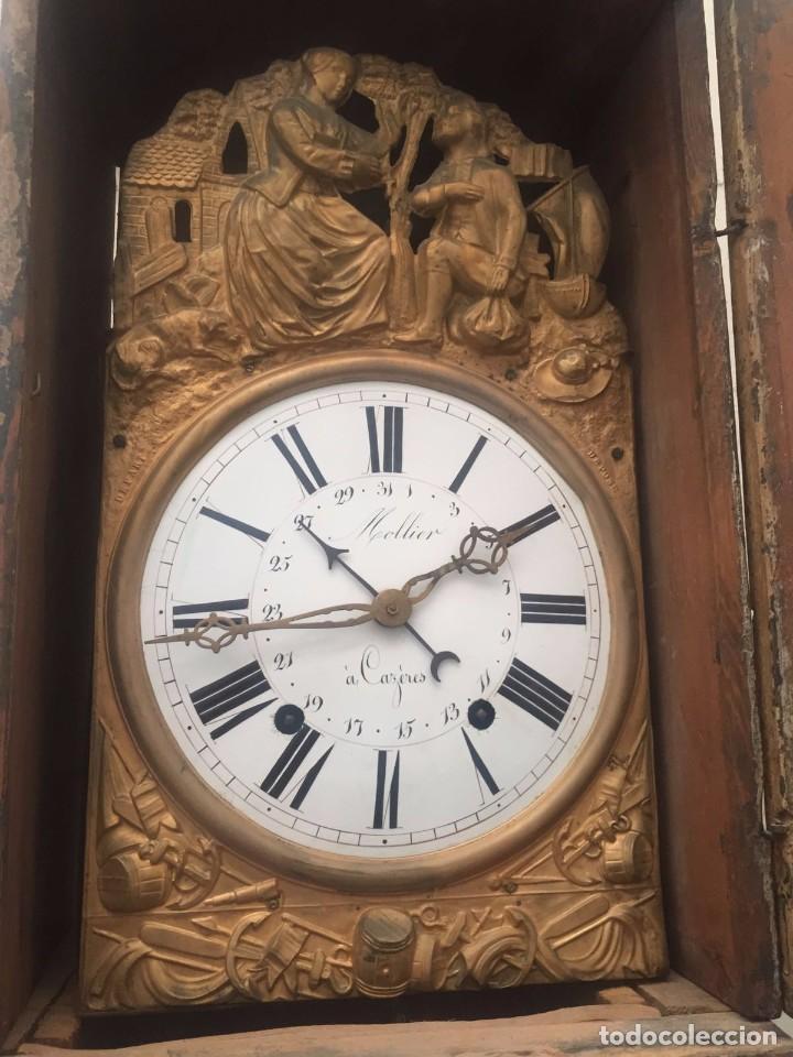 Relojes de pie: Reloj de caja alta mitad s. XIX. - Foto 2 - 75212283