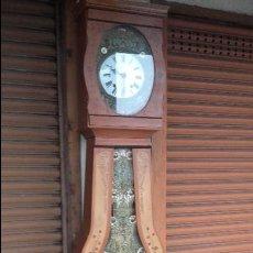 Relojes de pie: RELOJ MOREZ DEL SIGLO XIX EN SU CAJA ORIGINAL RESTAURADA. Lote 78910677