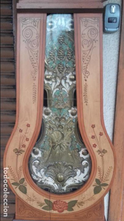Relojes de pie: Reloj Morez del siglo XIX en su caja original restaurada - Foto 4 - 78910677