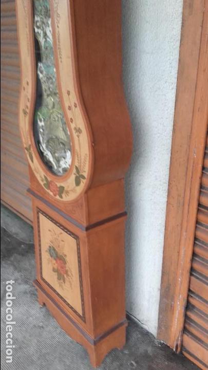 Relojes de pie: Reloj Morez del siglo XIX en su caja original restaurada - Foto 7 - 78910677