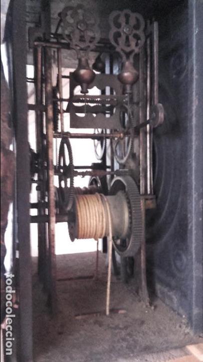 Relojes de pie: Reloj Morez del siglo XIX en su caja original restaurada - Foto 13 - 78910677
