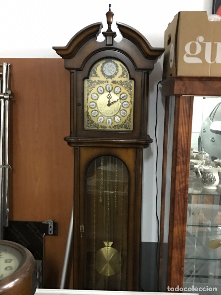 RELOJ TEMPUS FUGIT MUY BUEN ESTADO (Relojes - Pie Carga Manual)