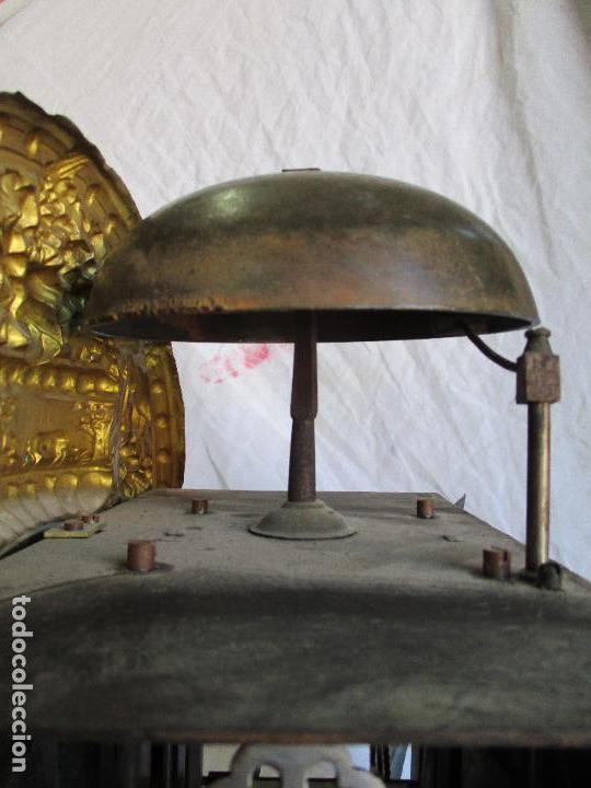 Relojes de pie: Antiguo Reloj de Pie - Maquina Morez - Caja de Madera, Pintada a Mano - Sonería de Campana - S. XIX - Foto 18 - 82419124
