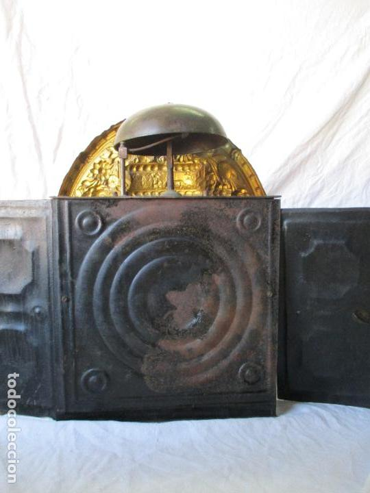 Relojes de pie: Antiguo Reloj de Pie - Maquina Morez - Caja de Madera, Pintada a Mano - Sonería de Campana - S. XIX - Foto 19 - 82419124