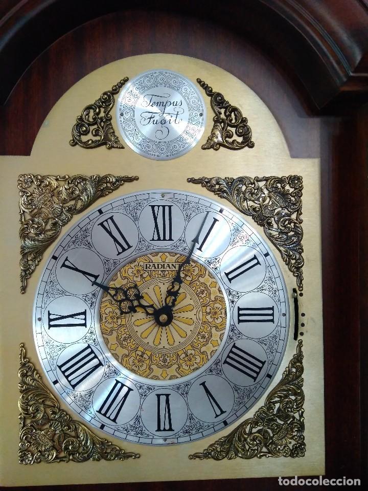 Relojes de pie: RELOJ PIE RADIANT, COMO NUEVO FUNCIONANDO PERFECTAMENTE - Foto 6 - 91761910