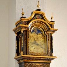 Reloj de pié Reguladora, da los cuartos, con ave maría de Fatima