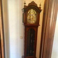 Relojes de pie: RELOJ CARRILLÓN TEMPUS FUGIT DE CUERDA MANUAL. Lote 95747727