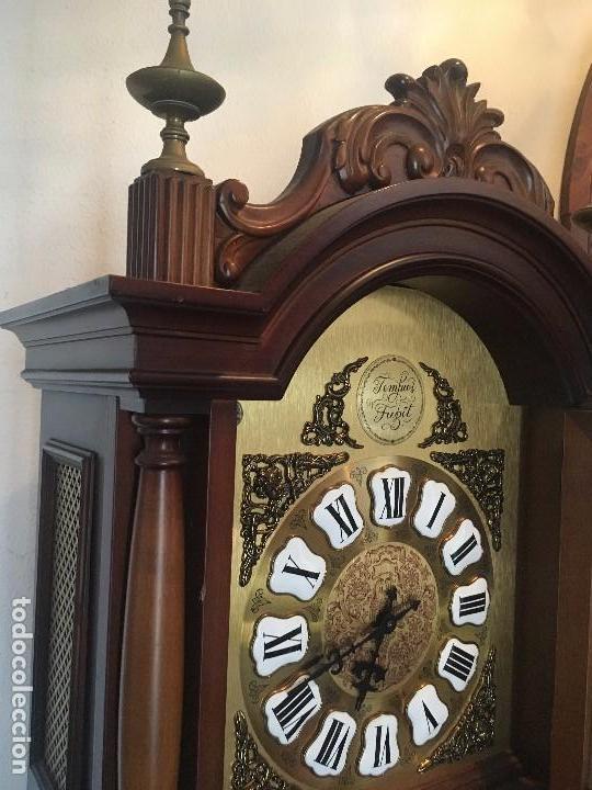 Relojes de pie: Reloj carrillón Tempus Fugit de cuerda manual - Foto 3 - 95747727