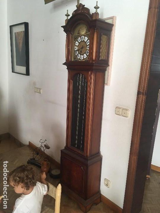 Relojes de pie: Reloj carrillón Tempus Fugit de cuerda manual - Foto 4 - 95747727