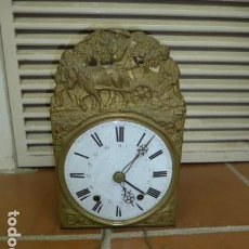 Relojes de pie: ANTIGUO RELOJ DE PIE DE SIGLO XIX, ORIGINAL. MOREZ.. Lote 102493455