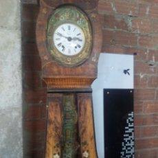 Relojes de pie: EXTRAORDINARIO MORET CON MUEBLE PÉNDULO REAL. Lote 103882678