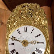 Relojes de pie: IMPRESIONANTE Y RARISIMO RELOJ DE PARED PEDRO BESSES, VALENCIA SIGLO XIX. Lote 105941727