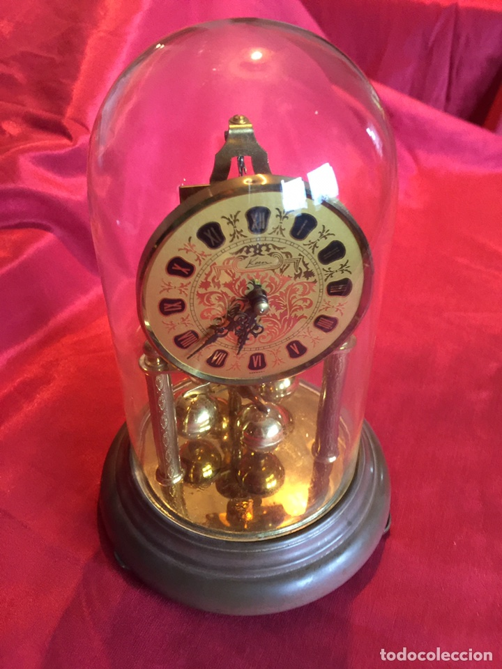 MARAVILLOSO RELOJ ALEMÁN ANTIGUO (VER FOTOS) (Relojes - Pie Carga Manual)