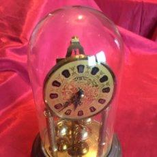 Relojes de pie: MARAVILLOSO RELOJ ALEMÁN ANTIGUO (VER FOTOS). Lote 107640683