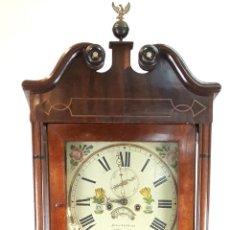 Relojes de pie: RELOJ DE PIE. MUEBLE DE CAOBA Y ROBLE. JOHN CALCOTT. INGLATERRA. SIGLO XVIII-XIX.. Lote 109270551