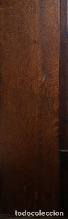 Relojes de pie: RELOJ DE PIE. MUEBLE DE CAOBA Y ROBLE. JOHN CALCOTT. INGLATERRA. SIGLO XVIII-XIX. - Foto 9 - 109270551