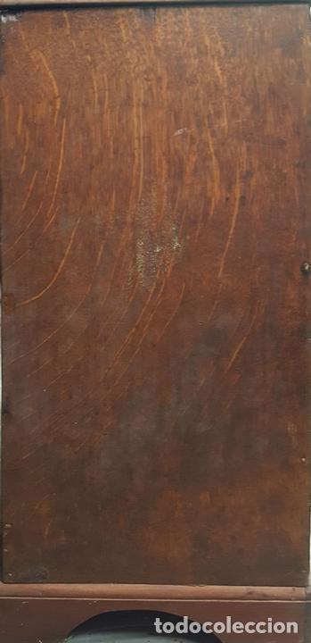 Relojes de pie: RELOJ DE PIE. MUEBLE DE CAOBA Y ROBLE. JOHN CALCOTT. INGLATERRA. SIGLO XVIII-XIX. - Foto 10 - 109270551
