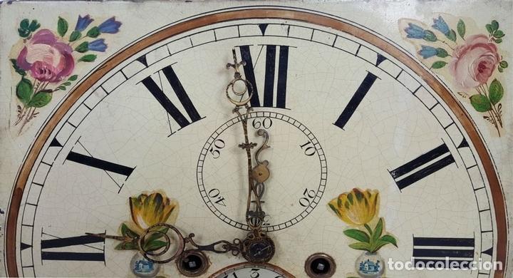 Relojes de pie: RELOJ DE PIE. MUEBLE DE CAOBA Y ROBLE. JOHN CALCOTT. INGLATERRA. SIGLO XVIII-XIX. - Foto 18 - 109270551