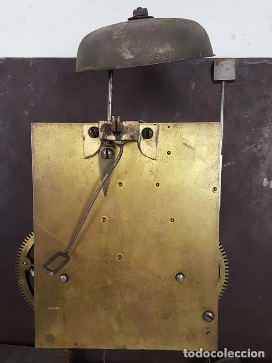 Relojes de pie: RELOJ DE PIE. MUEBLE DE CAOBA Y ROBLE. JOHN CALCOTT. INGLATERRA. SIGLO XVIII-XIX. - Foto 19 - 109270551