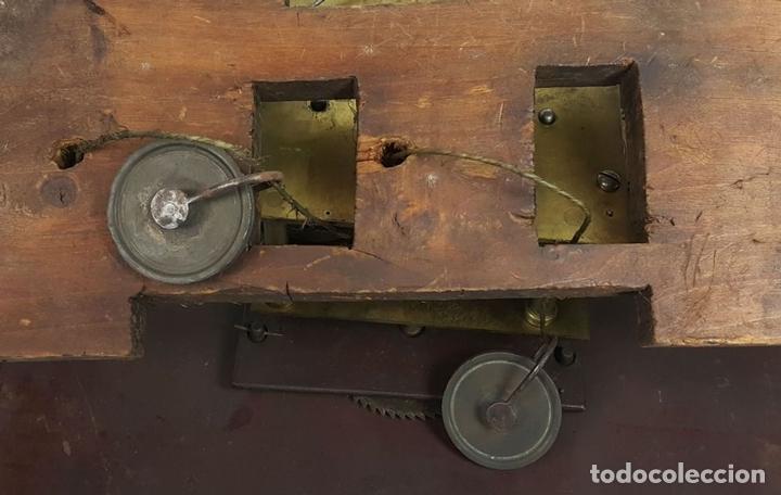 Relojes de pie: RELOJ DE PIE. MUEBLE DE CAOBA Y ROBLE. JOHN CALCOTT. INGLATERRA. SIGLO XVIII-XIX. - Foto 25 - 109270551