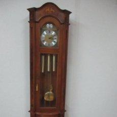 Relojes de pie: RELOJ DE PIE TEMPUS FUGIT - DIAMASTINI DOMENICONY, ITALIY - MARQUETERÍA - FUNCIONA - BONITA SONERÍA. Lote 115754740