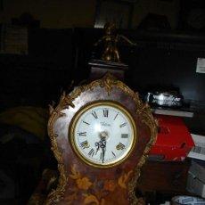 Relojes de pie: RELOJ NIECHUTELES VER FOTOS PERFECTO ESTADO DE MARCHA SONERIA DOBLE MARTILLO. Lote 111676311