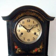 Relojes de pie: ORIGINAL RELOJ INGLES DE PIE, S. XIX, CON CHINOSSERIES, SONERÍA, EN MARCHA. Lote 111714347